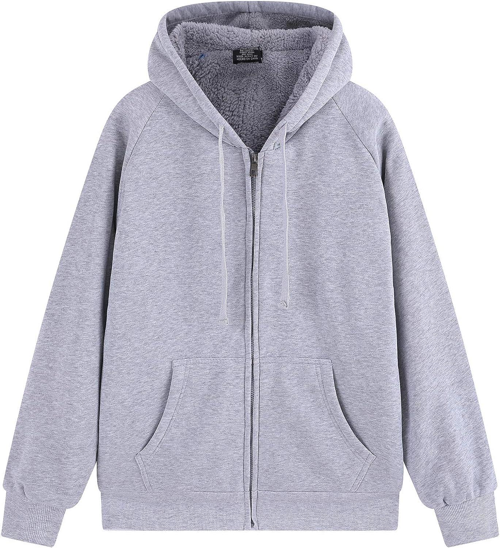 Max 47% OFF FairyLove Men's Fleece Super-cheap Athletic Hoodie Sweatshir Hooded Zip Full