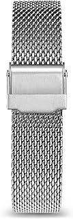 Masar 10mm à 12mm Bracelet de Montre en Maille Milanaise – Multimarques – 2 Barrettes à Ressort