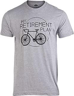 My Retirement Plan (Bicycle) | Funny Bike Riding Rider Retired Cyclist Man T-Shirt