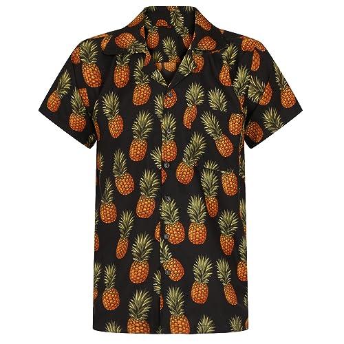 94a508600 Hawaiian Shirt Pineapple Shirt Mens Aloha Hawaii Holiday Beach Stag Juice  BBQ Beer Summer Tropical Fruit