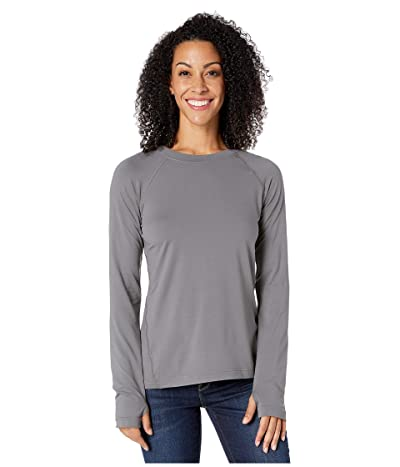 Columbia Bryce Canyontm Long Sleeve Crew (City Grey) Women