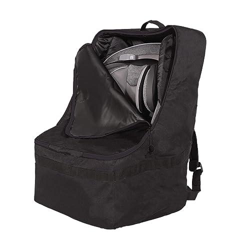 J.L. Childress Ultimate Backpack Padded Car Seat Travel Bag, Black