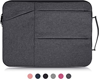 Dealcase 13-13.3 Inch Laptop Sleeve Case Compatible Acer Chromebook R 13,ASUS ZenBook 13,Dell Inspiron 13,Dell XPS 13,HP Stream 13.3,LG Toshiba Samsung ASUS Chromebook 13.3 inch Notebook Bag,Dark Gray