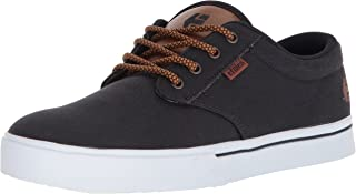 etnies Men's Jameson 2 Eco Skateboarding Shoes, Navy/Tan/White, 11 US