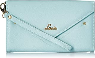 Lavie Dabke Mobile Large Tri Fold Women's Wallet(Aqua)