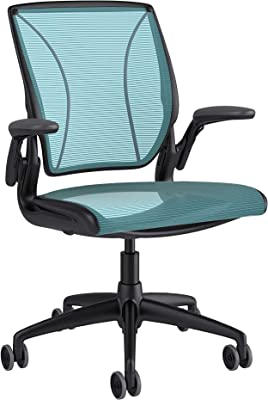 Amazon.com: Steelcase Think 3D Mesh Fabric Chair, Licorice ...