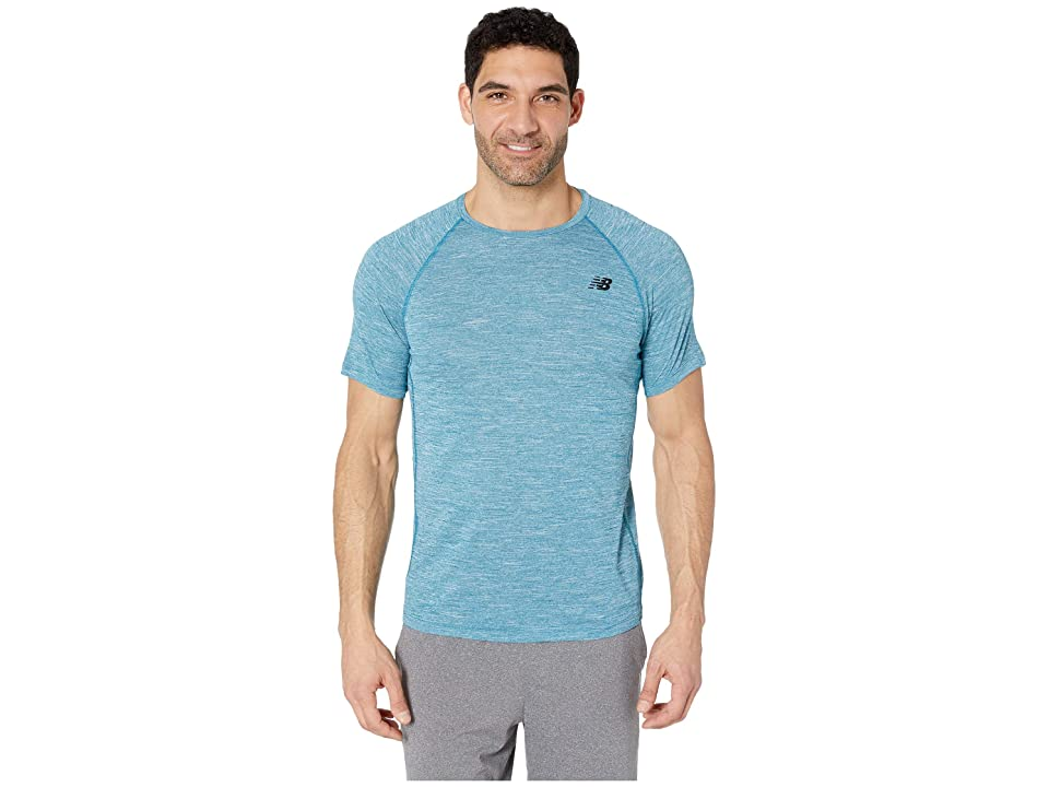 New Balance Tenacity Short Sleeve Tee (Dark Neptune) Men