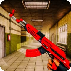 Realistic 3d Effects Amazing Animations Smooth Game Controls Addicting FPS Gameplay Smart and Intelligent Enemy AI System Limited Data Usage Modern Guns: guns, pistols, snipers, automatic rifles, shotguns Play in multiple battlegrounds and lots of th...