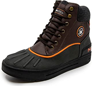Mens Padden Waterproof Snow, Lace-Up Insulated Duck Boot