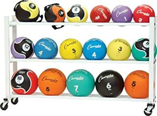 Champion Sports Deluxe Medicine Ball Storage Cart