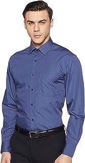 Marks & Spencer Men's Plain Regular fit Formal Shirt (Pack of 2)
