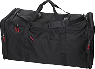 Camp Soft Trunk - Black, Size: 52 x 18 x 20, 18,720 Cu. Inch