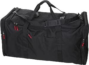 Large Camp Soft Trunk - Black, Size: 42 x 18 x 20, 15,120 Cu. Inch.