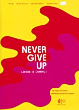 never give up music sheet