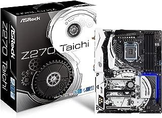 ASRock Z270 TAICHI LGA1151/ Intel Z270/ DDR4/ Quad CrossFireX & Quad SLI/ SATA3&USB3.1/ M.2&SATA Express/ WiFi/ A&2GbE/ ATX Motherboard