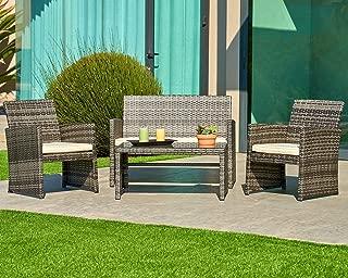 adirondack bar height patio set