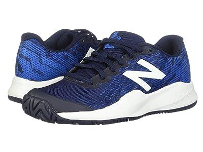New Balance Kids KC996v3 Tennis (Little Kid/Big Kid) (Blue/Multi) Kids Shoes