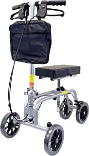 Essential Medical Supply Free Spirit Knee and Leg Walker with Patented Design, Unique Turning Mechanism, Extra Height Adjustability and 400lb Weight Capacity