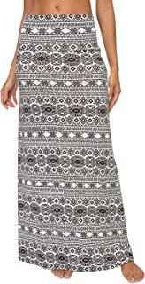 EXCHIC Donna Gonna Lunga Boho Maxi Style