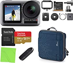 $279 » DJI OSMO Action 4K HDR Waterproof Action Camera with 2 Displays with Lowepro AVC2 Hardshell Case, Sandisk 64GB microSD Car...
