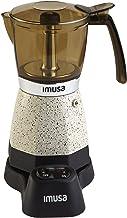 IMUSA USA B120-60008 Red Metallic Elec 3-6 Cups White