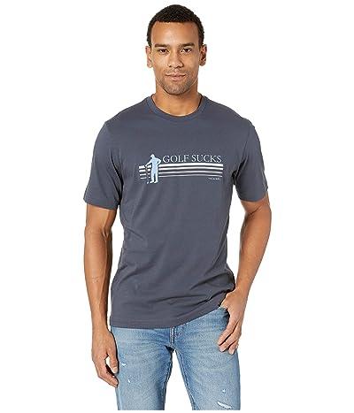 TravisMathew Jason T-Shirt (Blue Nights) Men