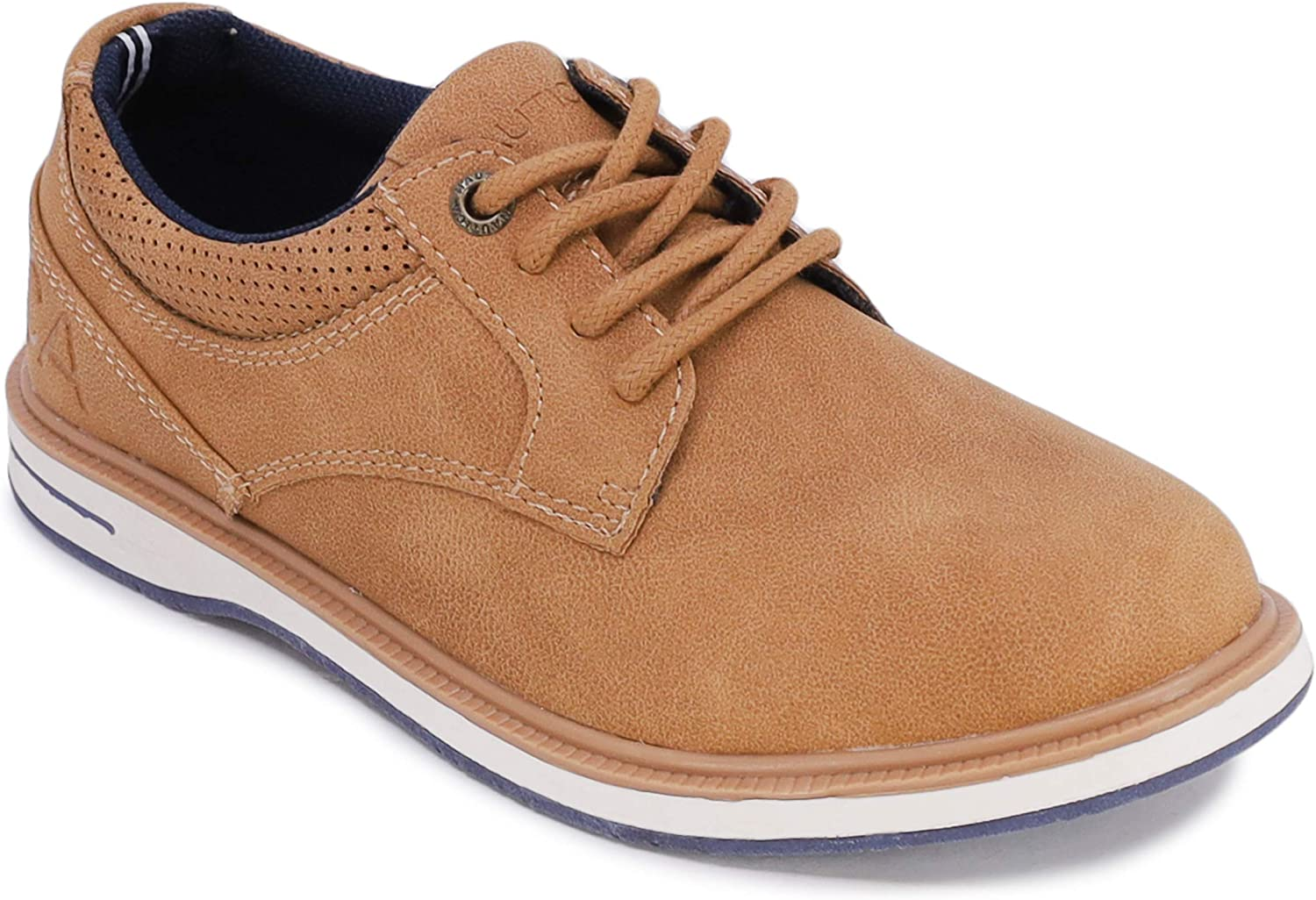 Nautica Kid's Lace Up Casual Shoe Athletic Sneaker -Dress Boat Shoe (Big Kid/Little Kid/Toddler)