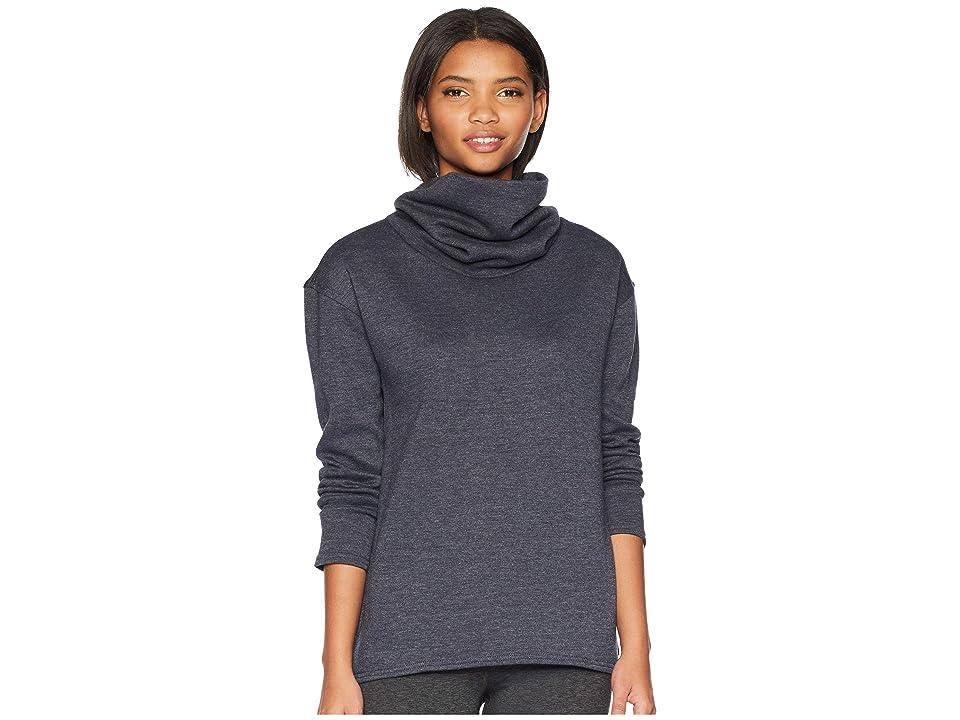 Burton Ellmore Pullover (True Black Heather) Women's Clothing