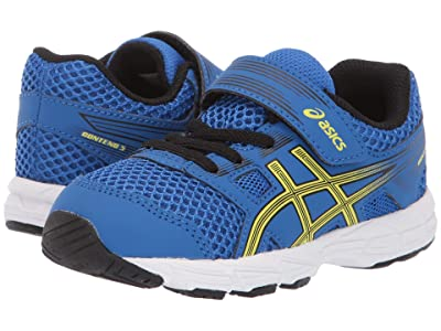 ASICS Kids Gel-Contend TS (Toddler) (Illusion Blue/Lemon) Boys Shoes