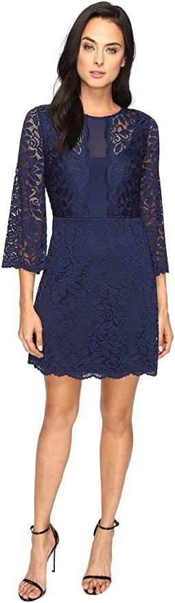 Belle Sleeve Stretch Lace Dress