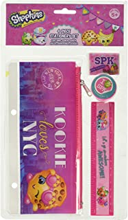 Shopkins 4 Piece Stationery Set (Pack of 8)
