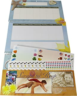 Giftco Make-A-Wish Customizable Family Activity Calendar - Note & Message Pocket