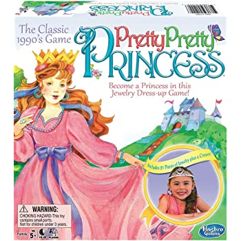Big Game Toys~Pretty Pretty Princess Game Jewelry Dress Up Board Game 1990's Classic Includes BGT Backpack Storage Tote Tiara Necklaces