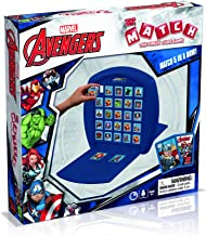 Marvel Avengers Top Trumps Match Board Game