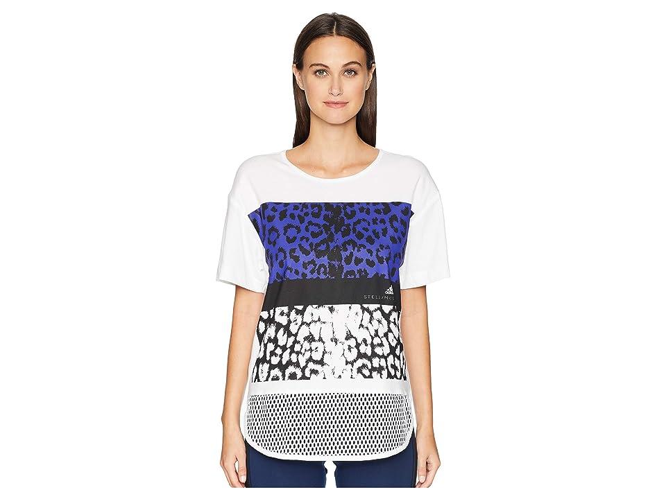 adidas by Stella McCartney Essentials Leopard Tee DM5353 (White) Women