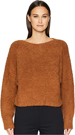 Teddy Cropped Boat Neck