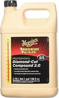 Meguiar's M8501 Mirror Glaze Diamond Cut Compound 2.0, 1 Gallon