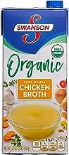 Swanson Organic Free-Range Chicken Broth, 32 oz.