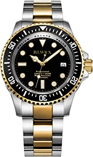 BLWRX 44mm Men's 1000m Diver Japanese Automatic Sport Stainless Steel Watch