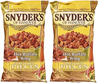 Snyder's of Hanover Pretzel Pieces - Hot Buffalo Wing - 12 oz - 2 pk