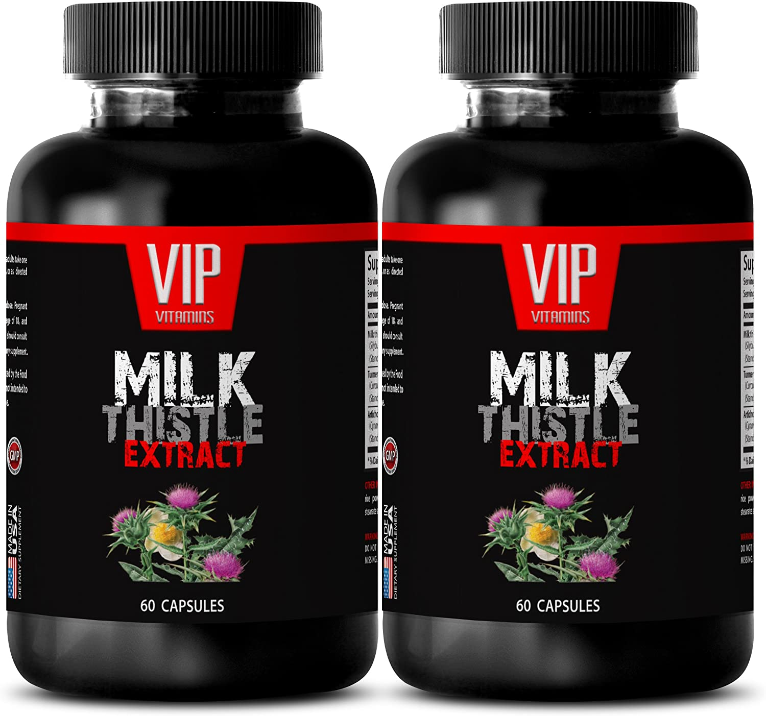 Immune System Max 76% OFF - Milk high Charlotte Mall 175MG Thistle Potency