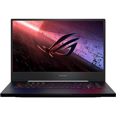 "ASUS ROG Zephyrus S15 (2020), 15.6"" FHD 300Hz/3ms, Intel Core i7-10750H 10th Gen, RTX 2070SUPER 8GB Graphics Gaming Laptop (32GB/1TB RAID 0 SSD/Office 2019/Windows 10- Black/1.9 Kg), GX502LWS-HF109TS"