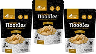 Wonder Noodles - Ziti - Carb-Free, Keto Pasta - Gluten-Free, Kosher, Vegan, Zero Calories - ready to eat (Includes 6 packs...