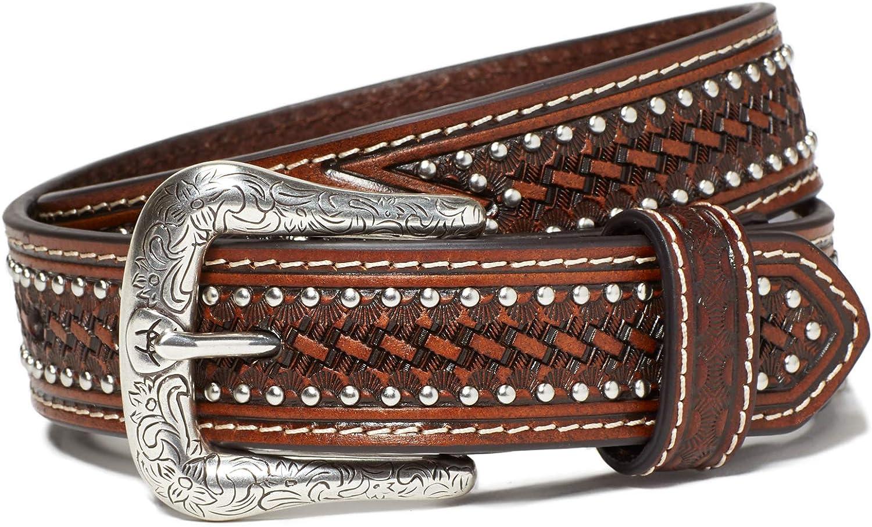 Ariat Kid's Studded Basket Weave Belt