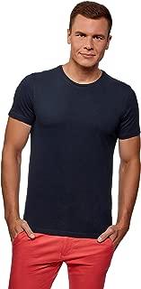 oodji Ultra Men's Basic T-Shirt