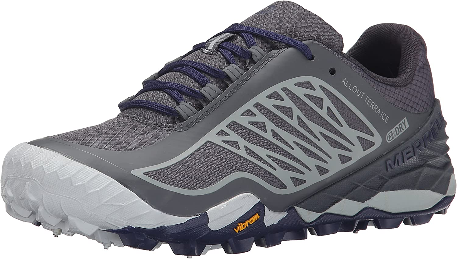 Merrell Women's All Out Terra Ice Waterproof Trail Running shoes