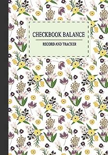 Checkbook Balance Record and tracker: 7