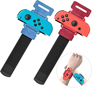 Upgraded Wrist Bands for Just Dance 2021 2020 Nintendo Switch, YUANHOT Adjustable Elastic Dance Straps for Switch Joy-Con ...