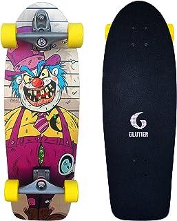 Glutier Surfskate Villain Krusty 30,5 Surf Skate S...