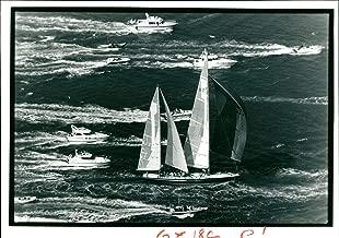 Vintage photo of Ship: Yacht Steinlager 2